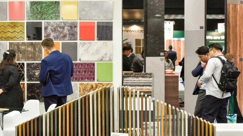 Interzum Cologne trade fair furniture interior design industry